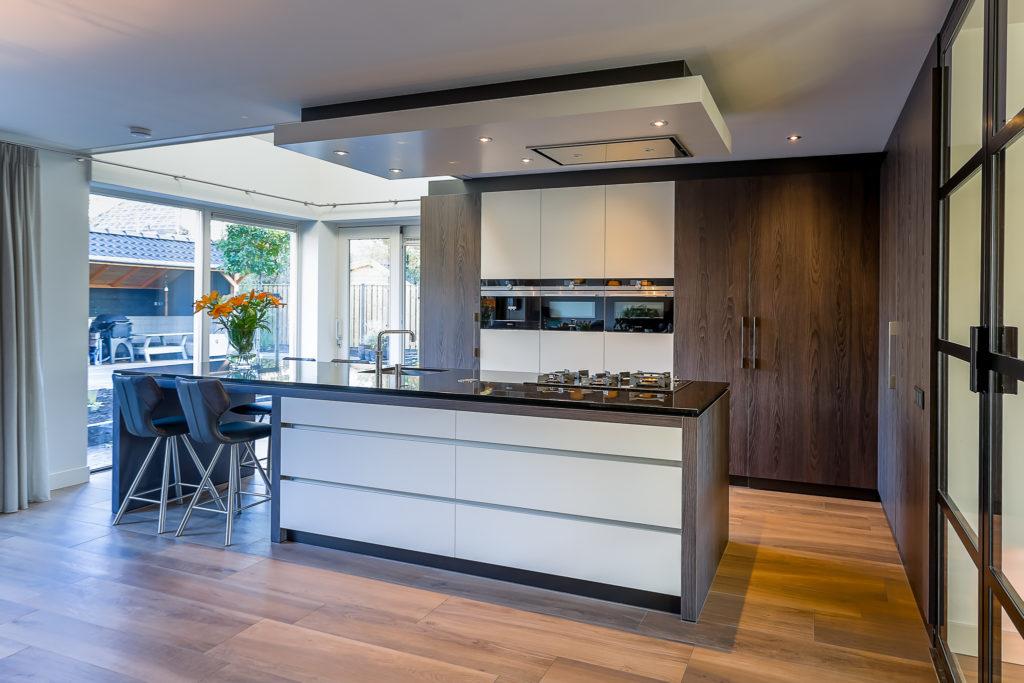 Moderne keuken met vide